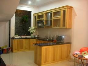 Tủ bếp gỗ tự nhiên BESM0105