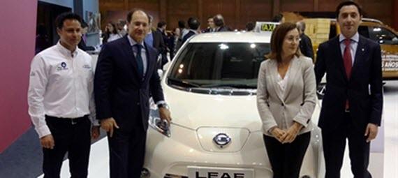 110 nuevos taxis eléctricos para Madrid