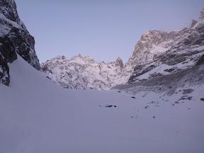 Face sud des Ecrins, Le Fifre, couloir des Avalanches, Pic Coolidge