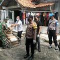 Secara Door to Door, 1.400 Masker Dibagikan Polres Kepulauan Seribu ke Warga