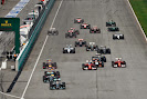 Start of the 2014 Malaysian F1 GP