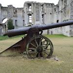 Château de La Ferté-Milon : canon russe