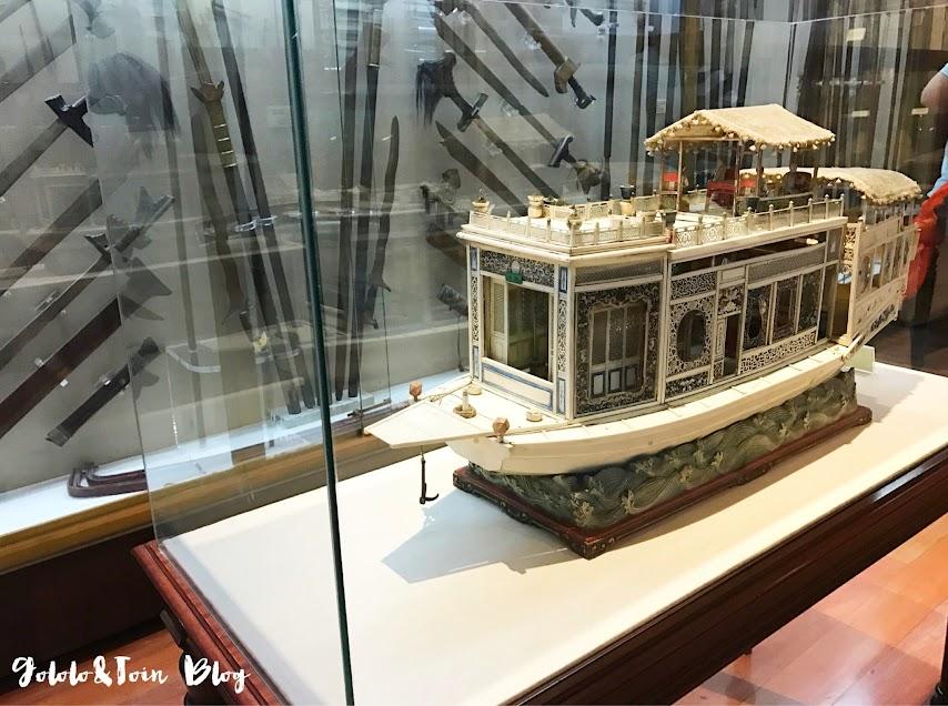 Armas chinas en el Museo Naval de Madrid