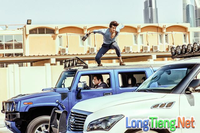 """Bom tấn Tết """"Kungfu Yoga"""" của Thành Long phá hủy hơn 70 chiếc siêu xe ở Dubai - Ảnh 2."""