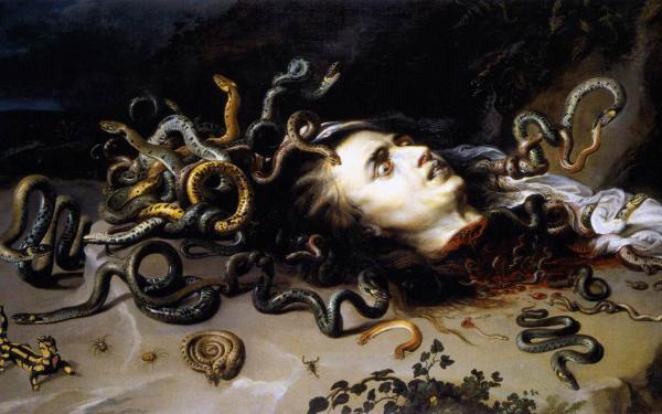Rubens Mythol Medusa, Demons 2