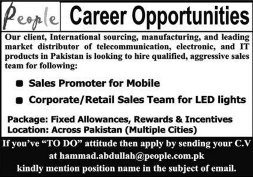 People Job Openings September 2020