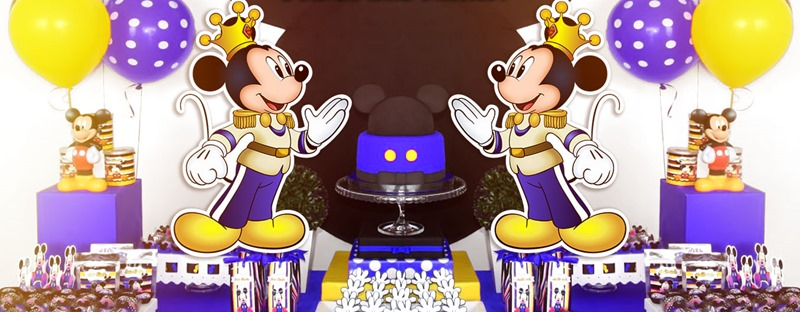 Mickey Mouse Rey Principe
