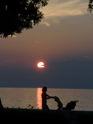 Sunset on the North Adriatic