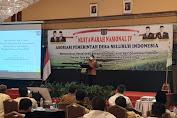 Munas IV DPP APDESI, Sekjen Kemendes PDTT : Pembangunan Harus Sustainibility dan Jangan Ada Degradasi SDA