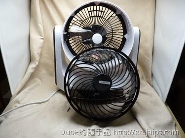 奇美DC馬達3D擺頭循環扇-風扇罩拆卸