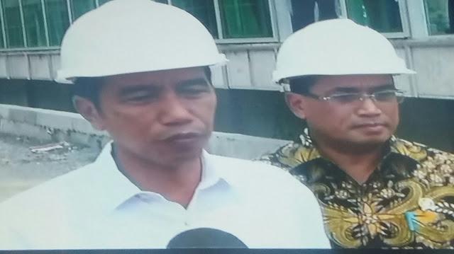Massa Demo Aksi Damai 4 November Menuju Ke Istana Negara Jokowi Kunjungi Proyek Jalur Kereta Bandara Soekarno Hatta