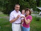 На источнике с дедушкой и бабушкой. 9 месяцев без трех дней