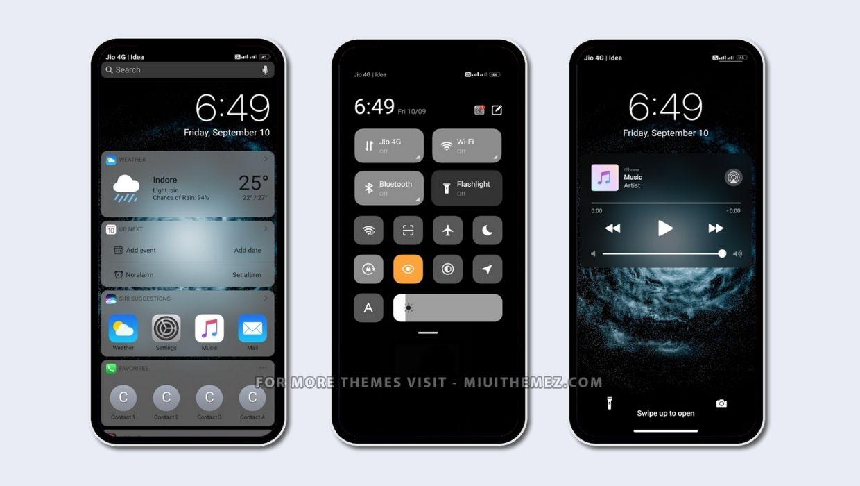 iOS 14.3.6 MIUI Theme