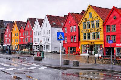 Bryggen's waterfront