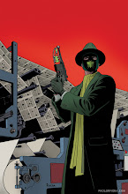 Photo: GREEN HORNET #6 COVER. 2013. Ink(ed by Joe Rivera) on bristol board with digital color, 11 × 17″.