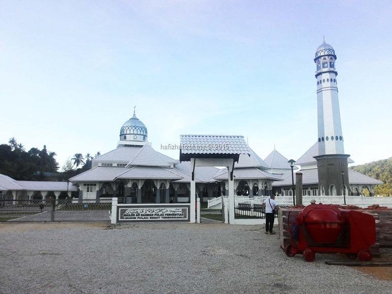 masjid di pulau perhentian kecil