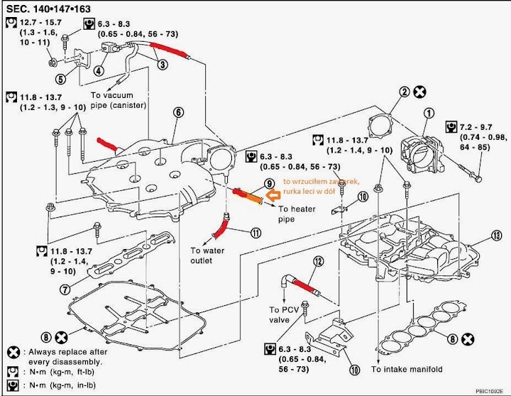 2005 Infiniti G35 Throttle Body Diagram
