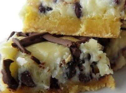 Chocolate Chip Gooey Butter Cake Recipe