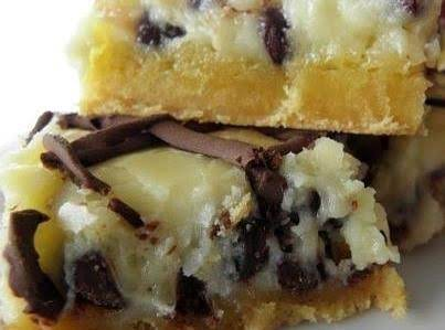 Chocolate Chip Gooey Butter Cake