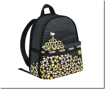 Peanuts X LeSportsac 7812 Basic Backpack 02
