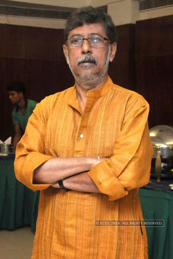 Souvik Mitra during the press meet of Bengali Film Punascha, held at Princeton Club.