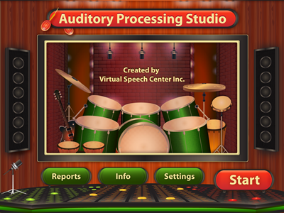 Auditory Processing Studio Main Page