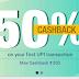 (Extended) PhonePe App - Get 50% Cashback Upto Rs.200 On First UPI Transaction