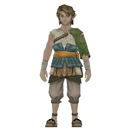 twilight princess video game twilight princess rancher link papercraftLink Twilight Princess