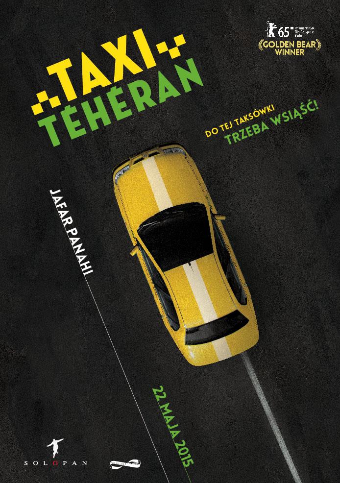 Polski plakat filmu 'Taxi - Teheran'
