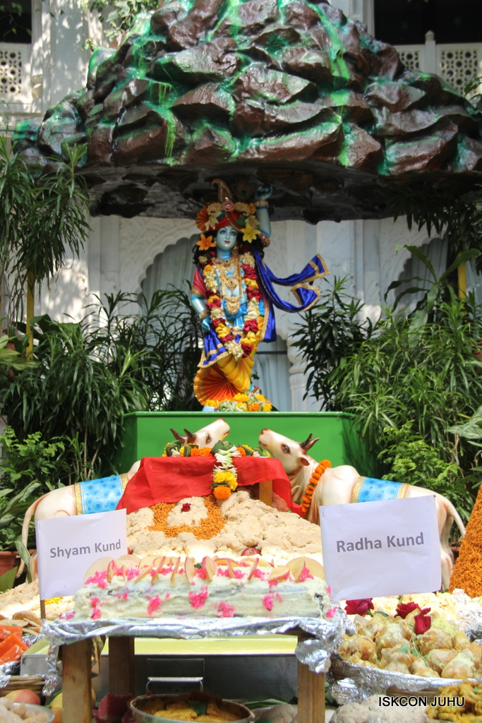 Govardhan Annakut Darshan  At ISKCON Juhu on 31st Oct 2016 (55)