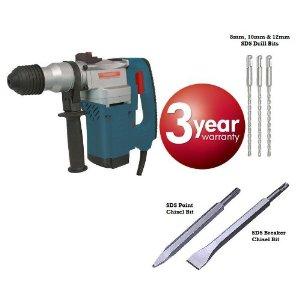 Buy SDS+ Plus hammer drill breaker 1500w 240v 3 year warranty