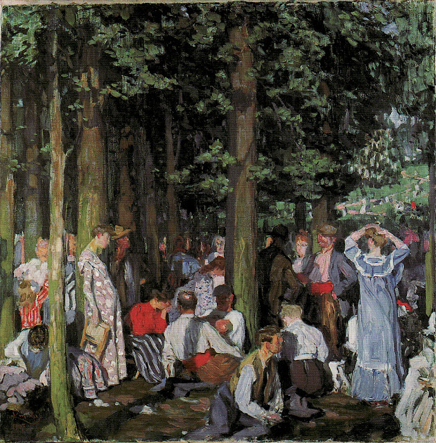František Kupka - In the Bois de Boulogne