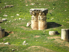 Photo: Jerash is well preserved because it has been buried under sand