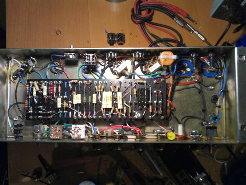 Conversion: 1987 to Ceriatone Yeti - The Amp Garage