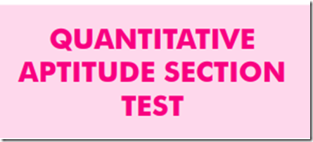 Quantitative Aptitude Test PDF for IBPS RRB Practice