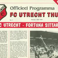 FCU Programmaboekjes 1992-93