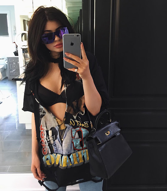 kylie jenner's amazing outfit