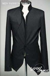 seven domu sk11 black blazer