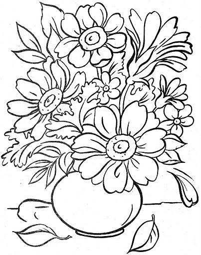 Dibujos de flores hawaianas para imprimir de colorear  Imagui