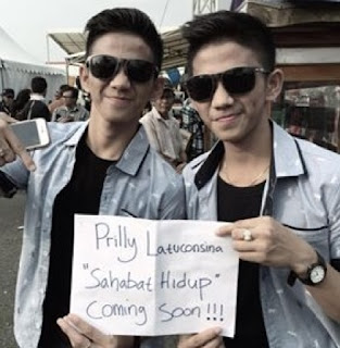 rizki dan ridho mendukung single terbaru prilly