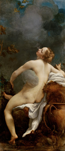 Corregio: Jupiter and Io. From The Museum of Fine Arts Houston Cloaked in Magnificent Opulence