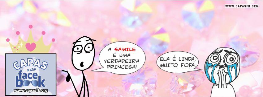 Capas para Facebook Samile