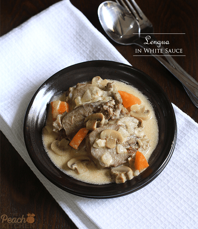 Lengua in White Sauce