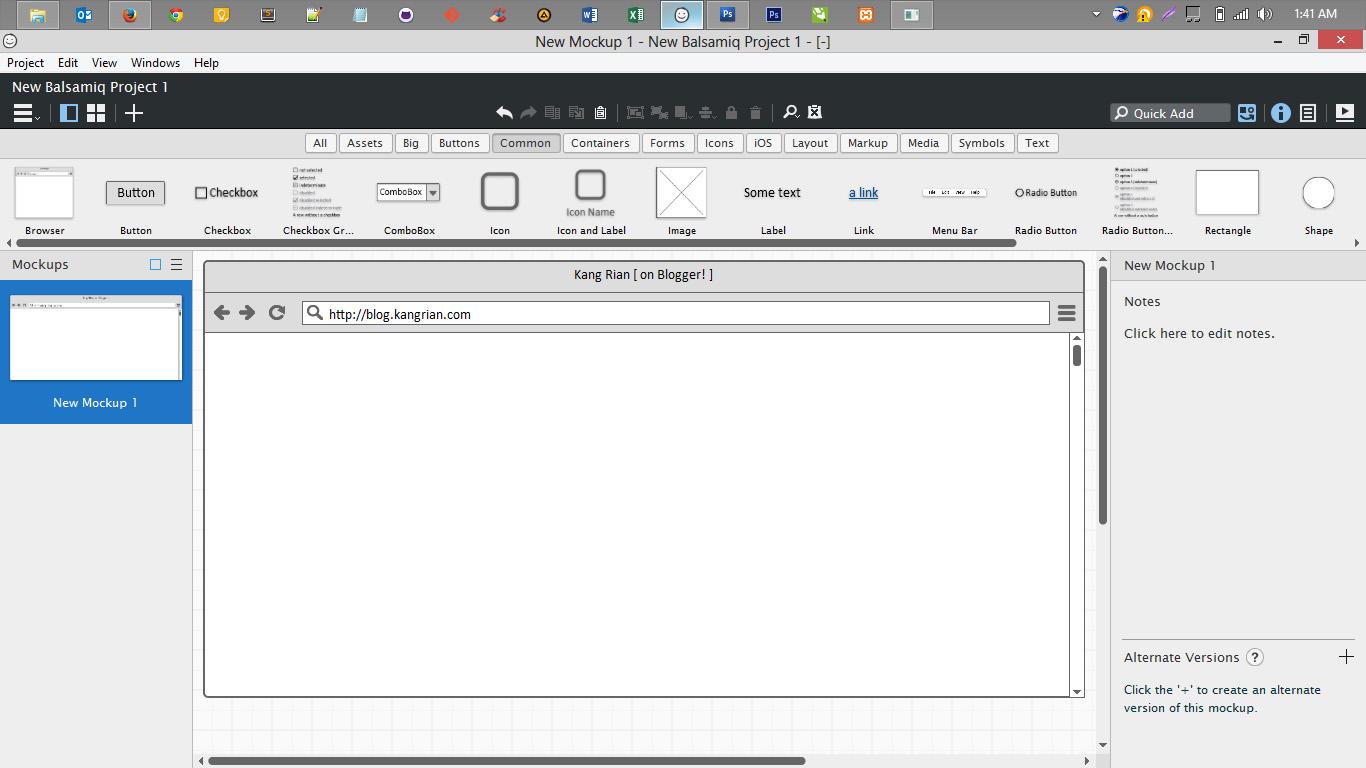 Download Balsamiq Mockups 3 Full Gratis | Blog-Kang.Akram