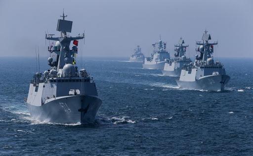 Kapal Perang Type 054 AL China