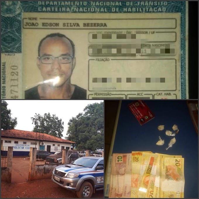 Em Medicilândia: Polícia prende homem com drogas
