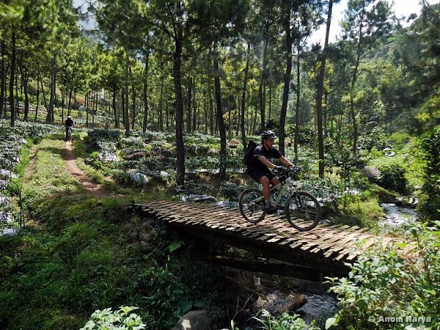 MTB Jelajah track Coban Rondo - Bedengan
