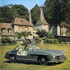 catalogue 6 Mercedes 300 SL portes Papillon 1956