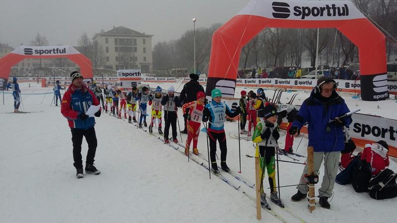 Un'immagine della gara regionale del 6 gennaio, Trofeo Passsport