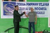 Japri Daud Dipilih Jadi Ketua dan Yasmidi Sebagai Sekretaris DPW Partai UKM Indonesia Propinsi Bengkulu